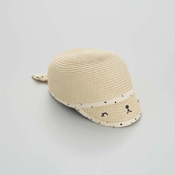 Chapeau à petite visière